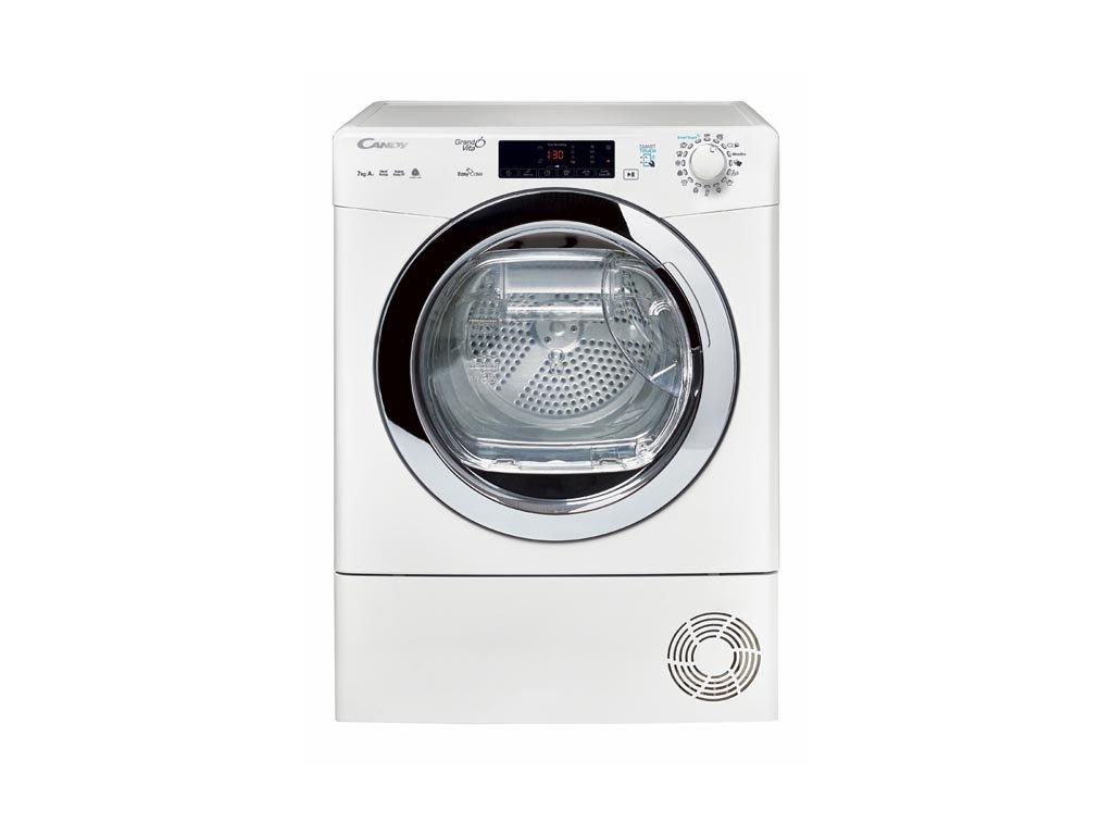 Kondenzační SLIM sušička prádla Candy GVS4 H7A1TCEX-S/  SLIM provedení