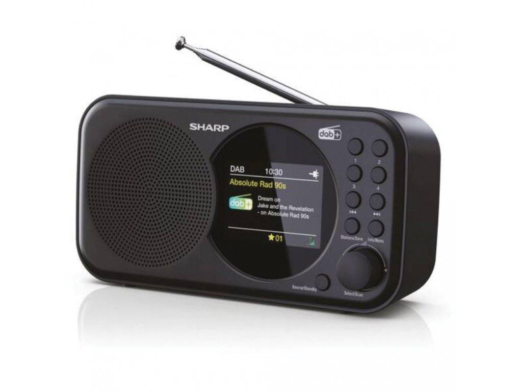 DR-P320(BK) FM/DAB radiopríjmač SHARP