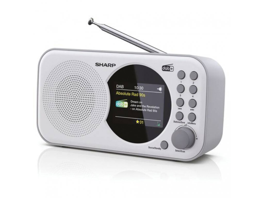 DR-P320(WH) FM/DAB radiopřijímač SHARP