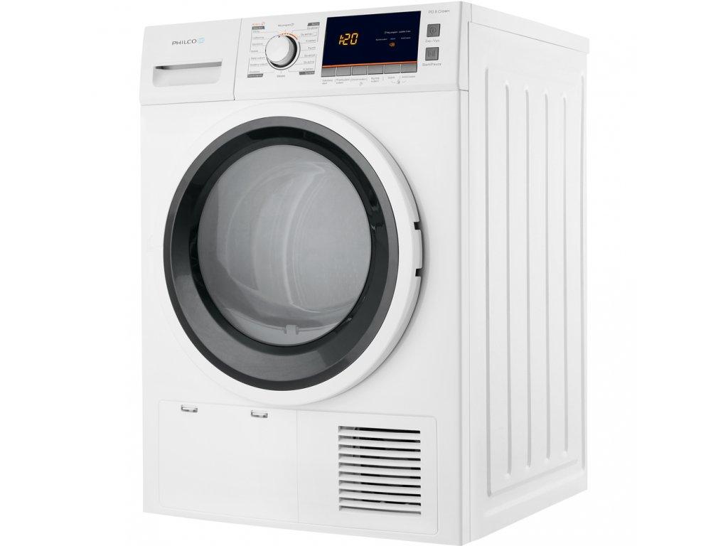PD 8 Crown sušička prádla PHILCO + bezplatný servis 36 měsíců