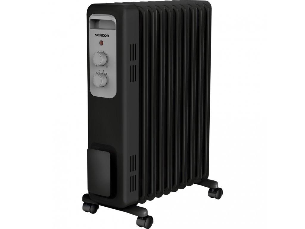 SOH 3309BK olejový radiátor SENCOR