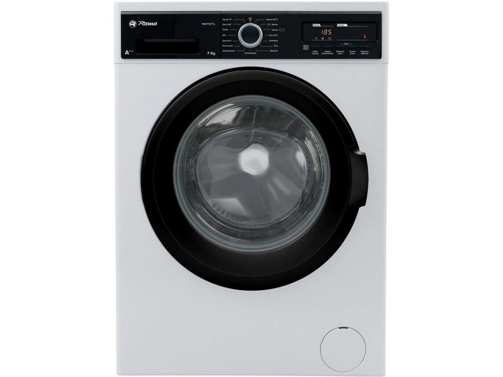Pračka předem plněná Romo RWF1271L + 4 roky bezplatný servis