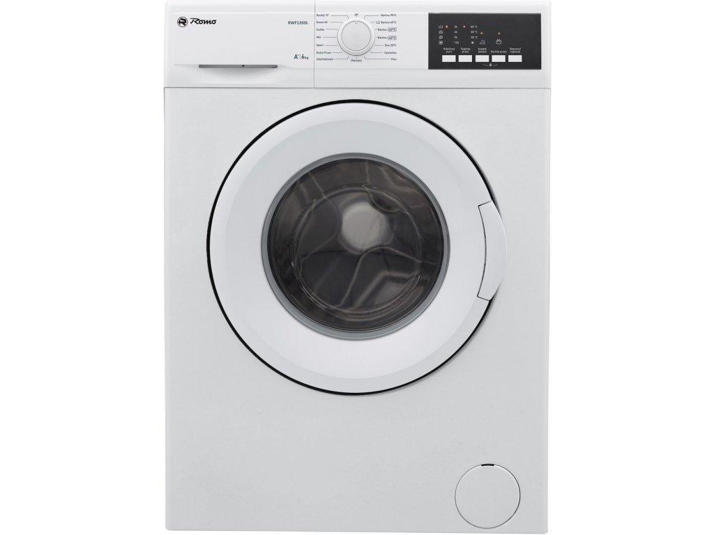 Pračka předem plněná Romo RWF1260A + 4 roky bezplatný servis