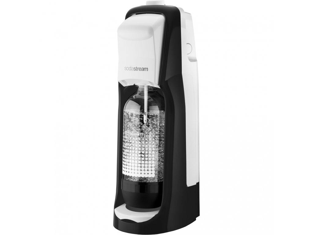 Jet Black&White výrobník perlivé vody SODASTREAM