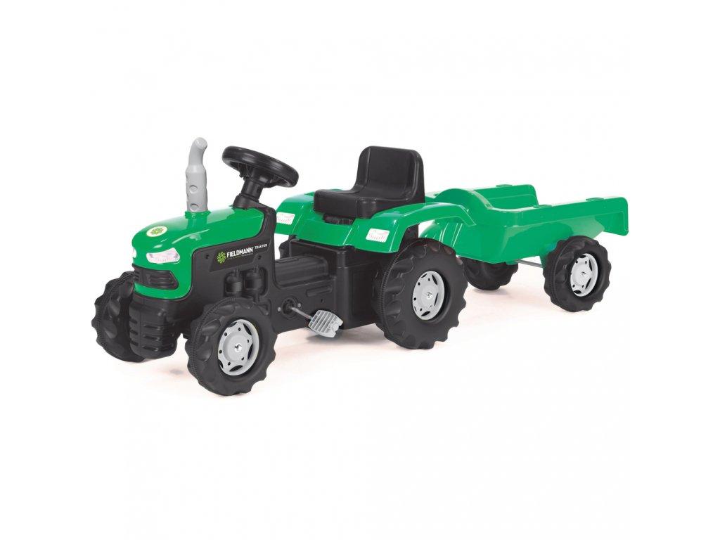 BPT 1013 Šlapací traktor s vozíkem BUDDY TOYS