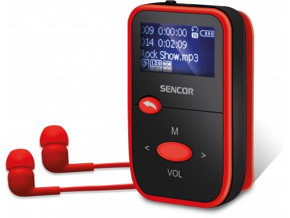 SFP 4408 RD 8GB MP3 PLAYER SENCOR