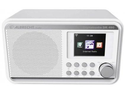 Albrecht DR 490 White internetové rádio s DAB+