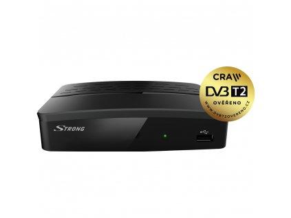 SRT 8209 HD DVB-T2 HEVC PŘIJÍMAČ STRONG