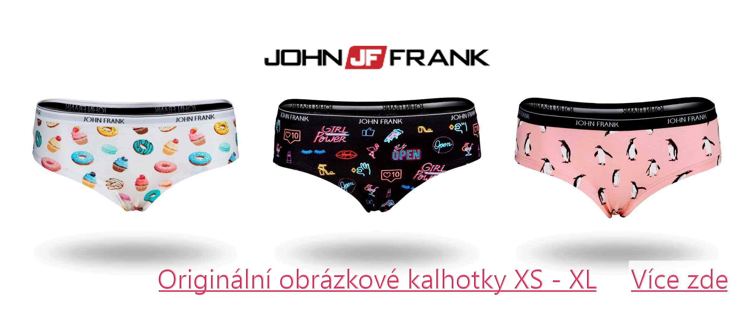 Kalhotky a boxerky John Frank