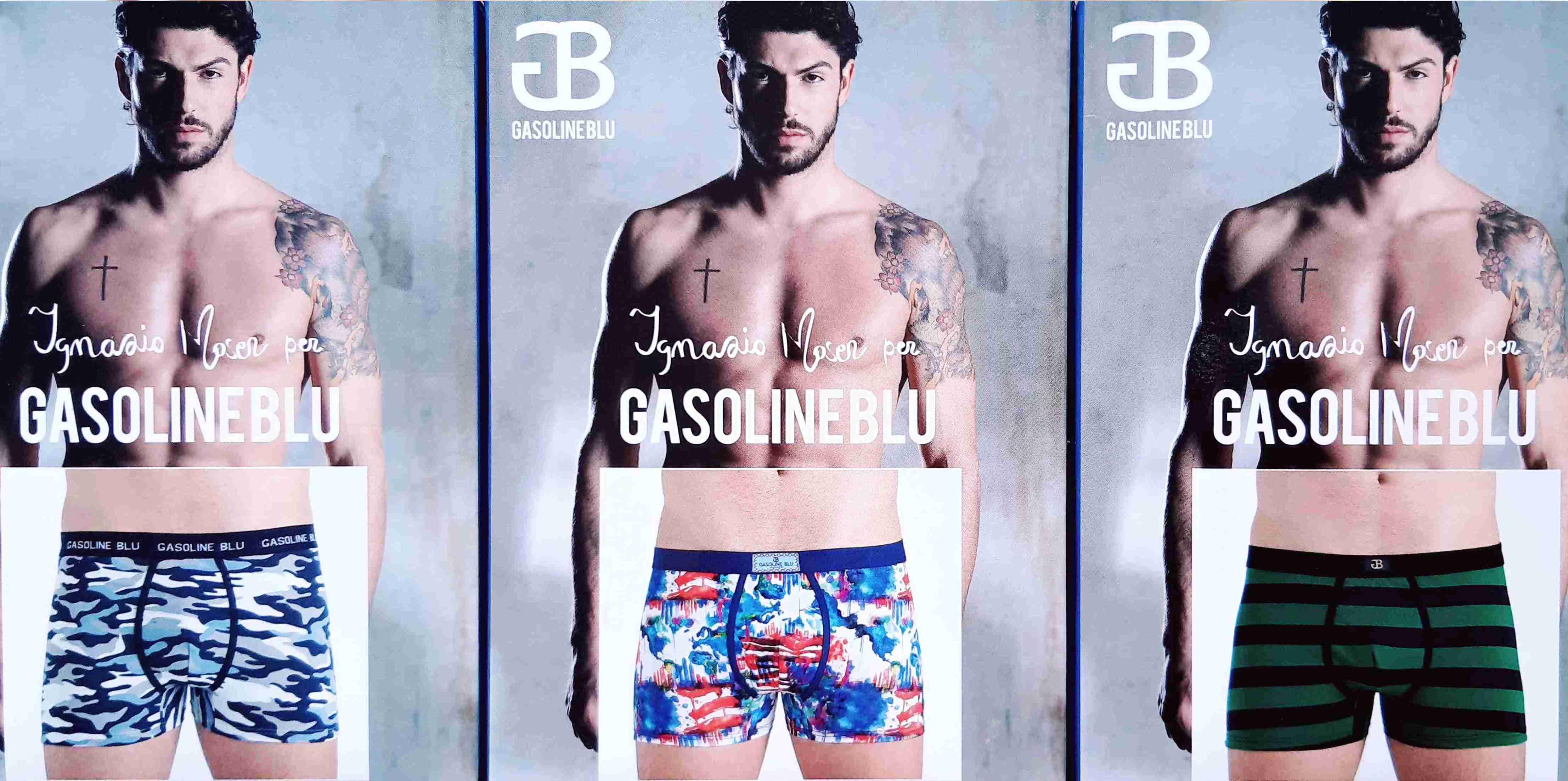 Pánské boxerky Gasoline BLu