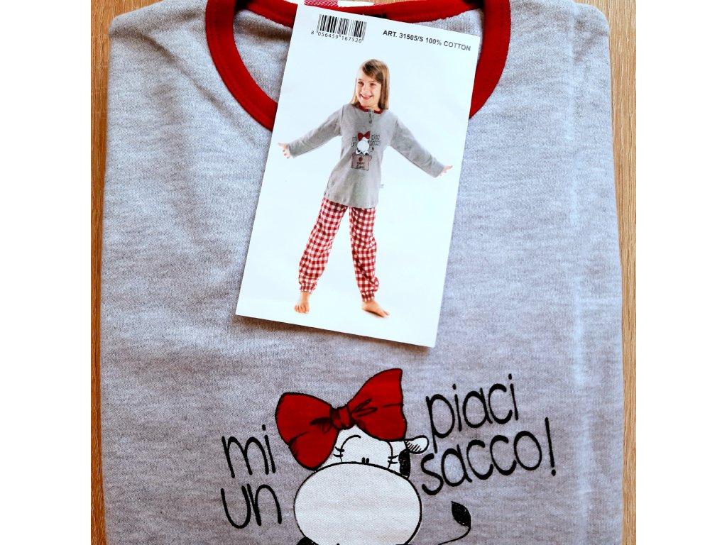 Crazy Farm 31505 dívčí pyžamo (Velikost oblečení 6-116)