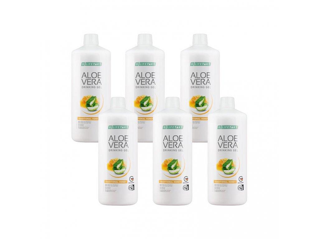 3365642 1 lr lifetakt aloe vera drinking gel traditional serie 6 x 1 000 ml