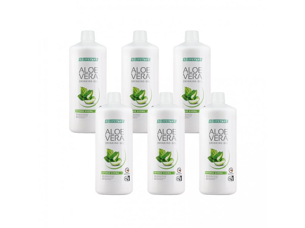 3365954 1 lr lifetakt aloe vera drinking gel intense sivera serie 6 x 1 000 ml