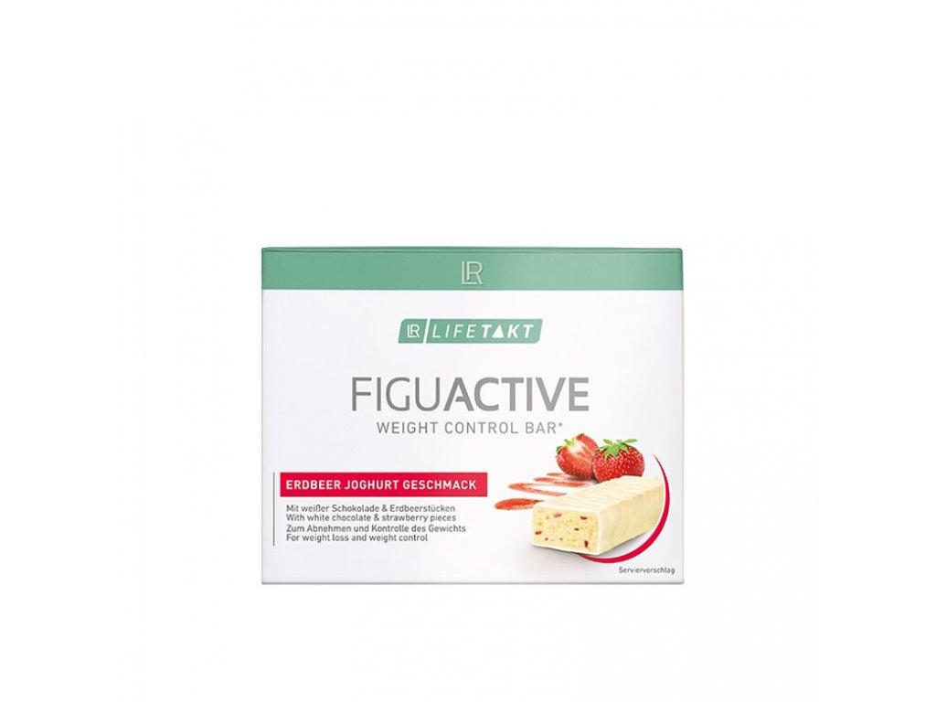 3367190 1 lr lifetakt figu active tycinka s jahodami a jogurtem 6 x 60 g