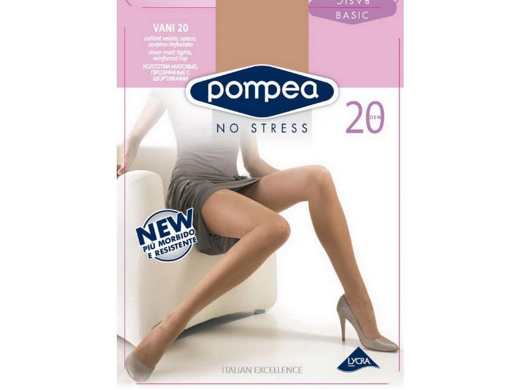 Pompea 90720470 dámské punčochy (Barva černá, Velikost oblečení L)