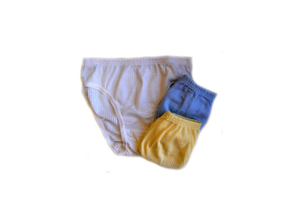 Haillo 0001 dívčí kalhotky (Barva žlutá, Velikost oblečení 13/14-158/164)