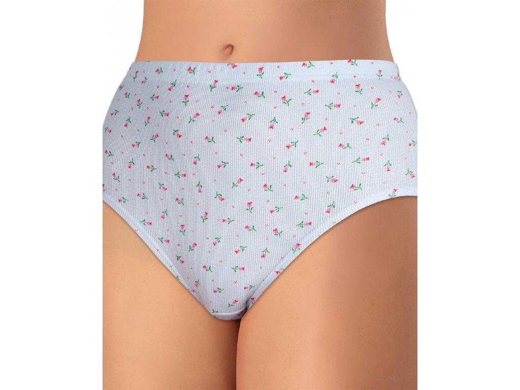 Andrie PS 1710 dámské kalhotky (Barva smetanová potisk, Velikost oblečení 6XL)