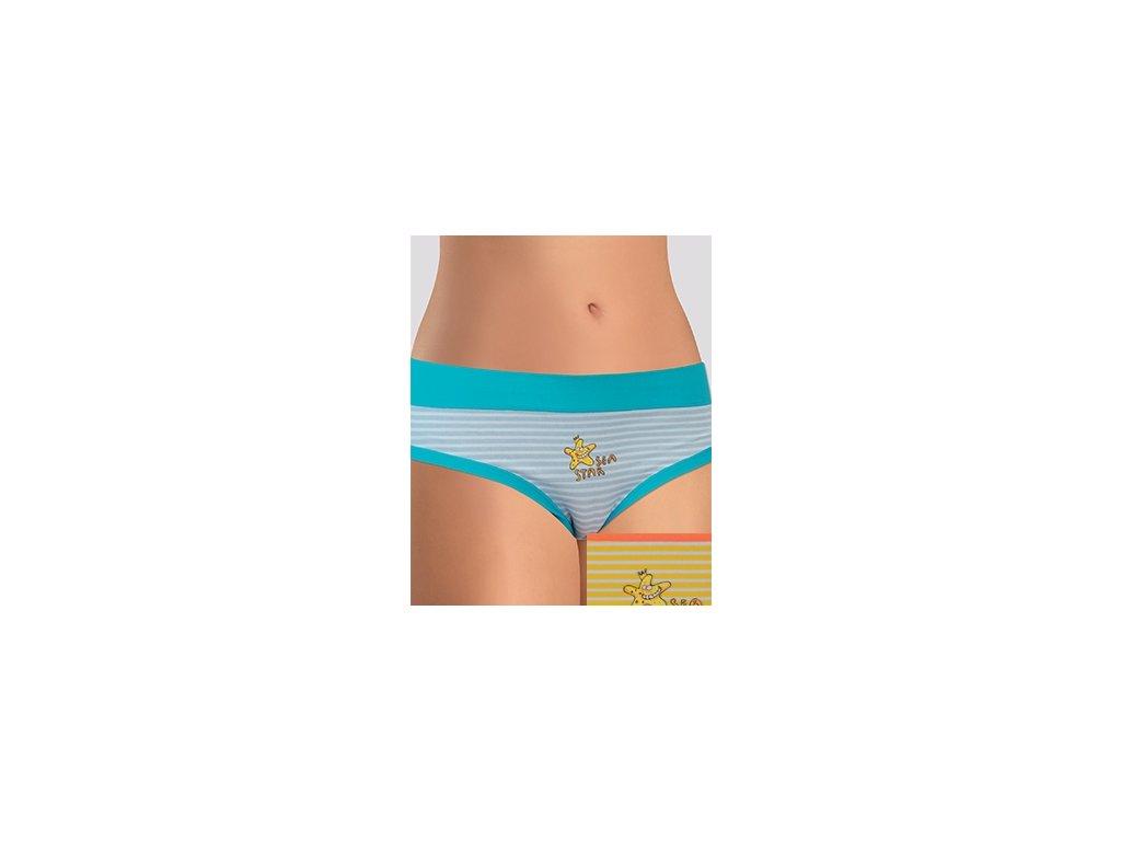 Andrie PS 2417 dámské kalhotky (Barva žlutá, Velikost oblečení 2XL)