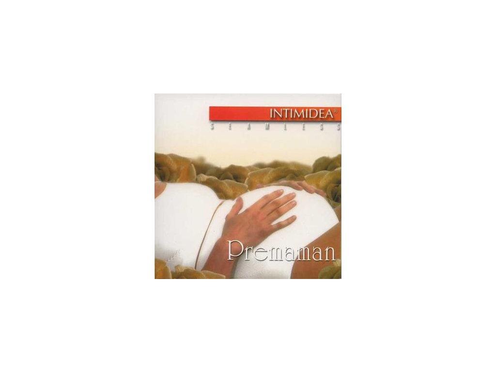 Intimidea 310228 kalhotky bezešvé těhotenské Premaman černé (Barva černá, Velikost oblečení S/M)