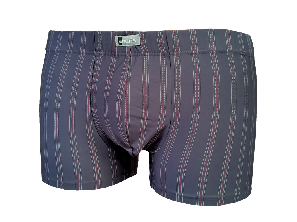 Andrie PS 4442 pánské boxerky (Barva šedá tmavá, Velikost oblečení XL)