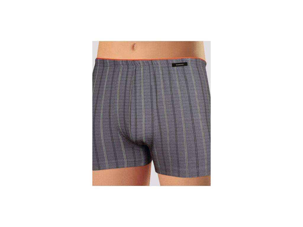 Andrie PS 4898 pánské boxerky (Barva šedá tmavá, Velikost oblečení M)