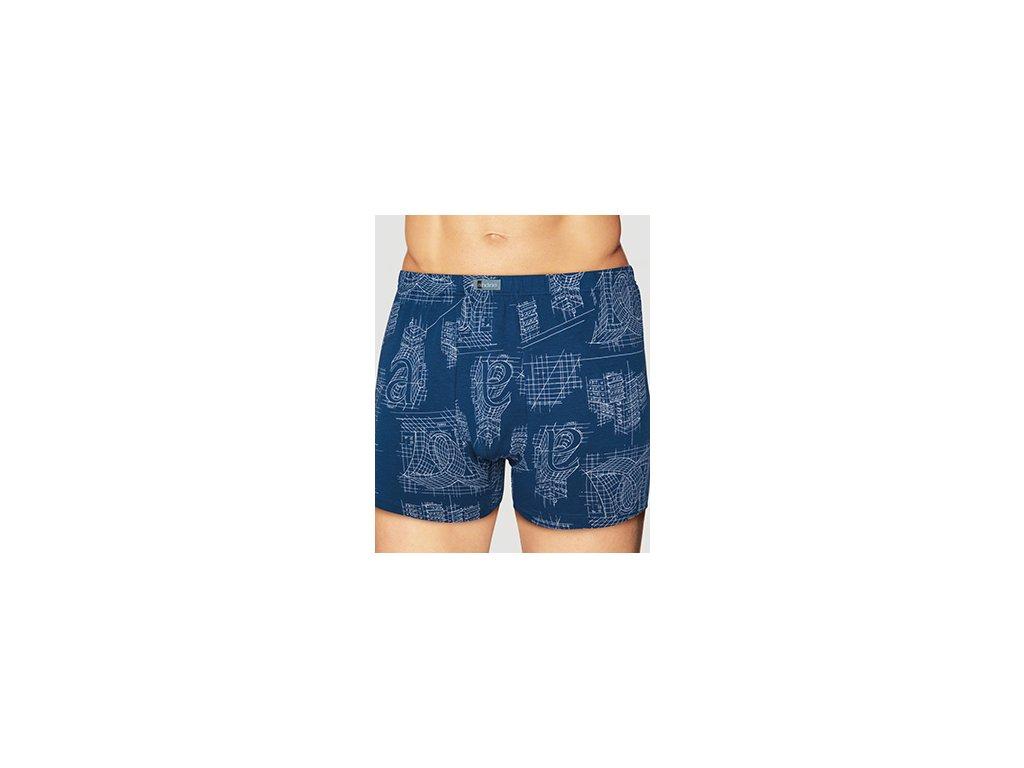 Andrie PS 5090 pánské boxerky (Barva modrošedá, Velikost oblečení M)