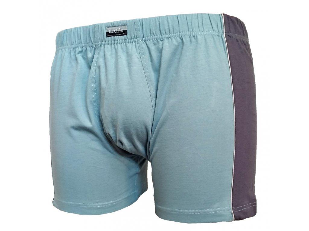 Andrie PS 5174 pánské boxerky (Barva zelená světlá, Velikost oblečení 3XL)