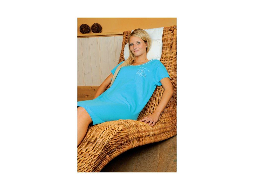 Andrie PS 9056 dámská noční košile (Barva fuxia, Velikost oblečení S)
