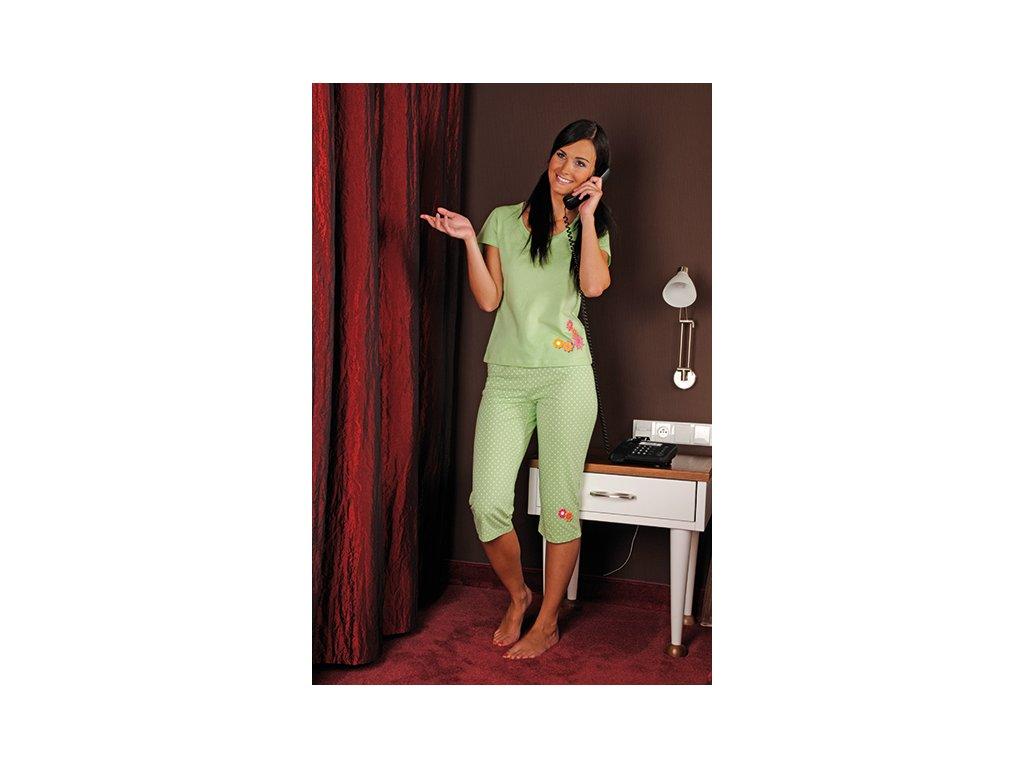 Andrie PS 9169 dámské pyžamo (Barva červená, Velikost oblečení S)