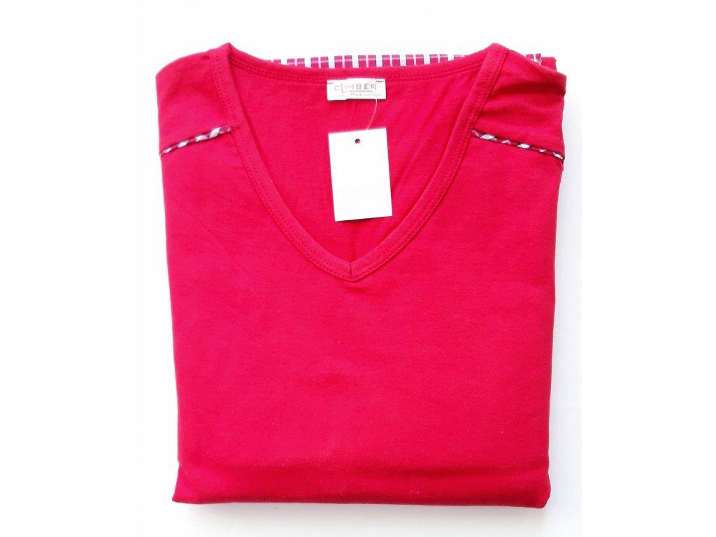 Climber 3606 pánské pyžamo (Barva červená)