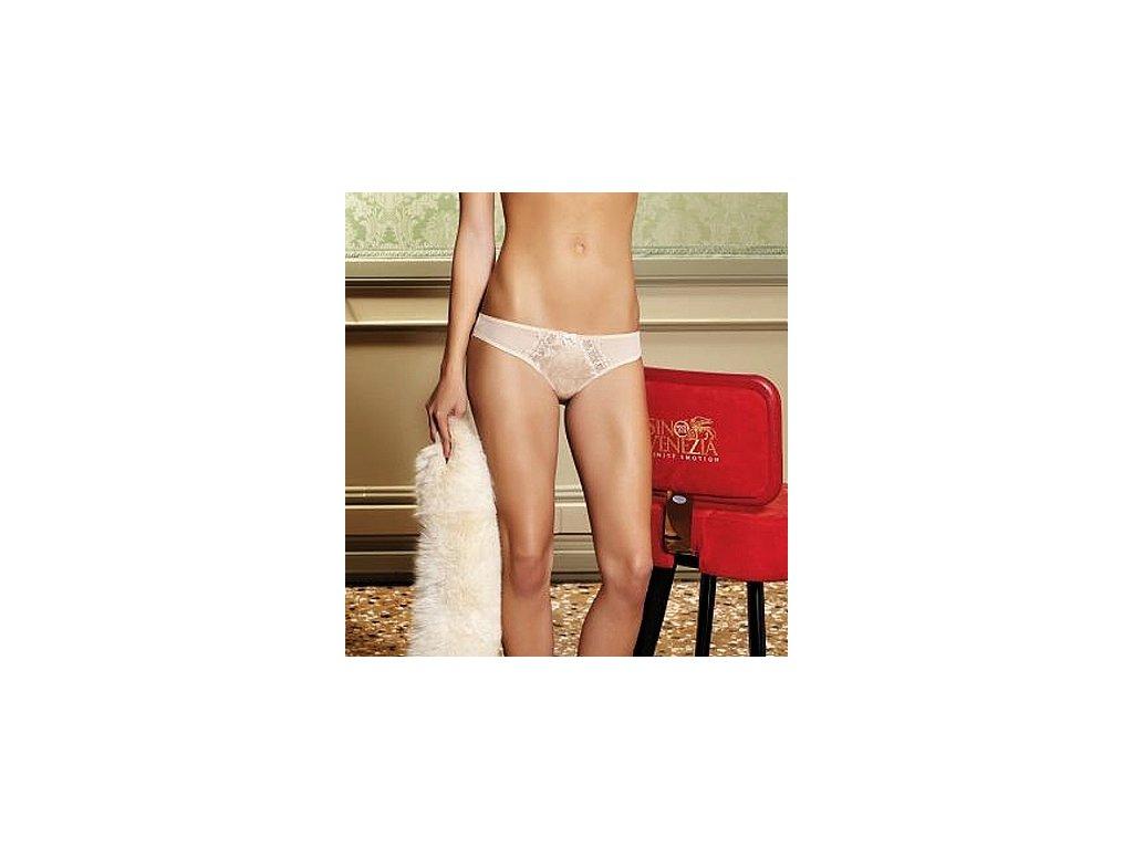 Pierre Cardin 1040 dámské kalhotky (Barva smetanová, Velikost oblečení S)