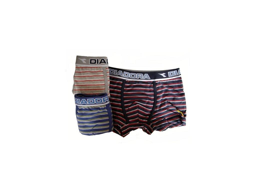 Diadora 115 chlapecké boxerky (Barva modrá tmavá, Velikost oblečení 7-122)