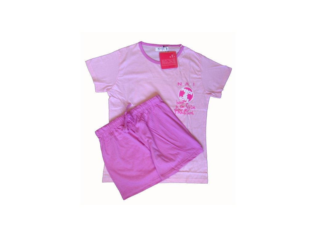 N.A.I. 11591 dámské pyžamo (Barva růžová, Velikost oblečení S)