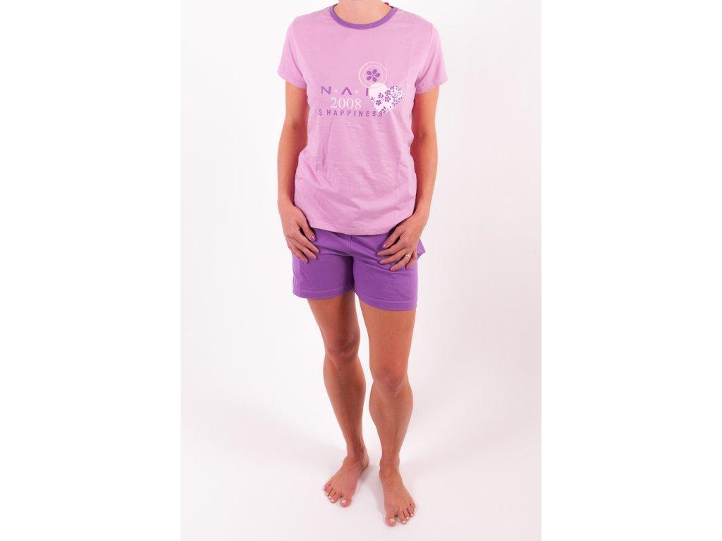 N.A.I. 11593 dámské pyžamo (Barva růžová, Velikost oblečení S)