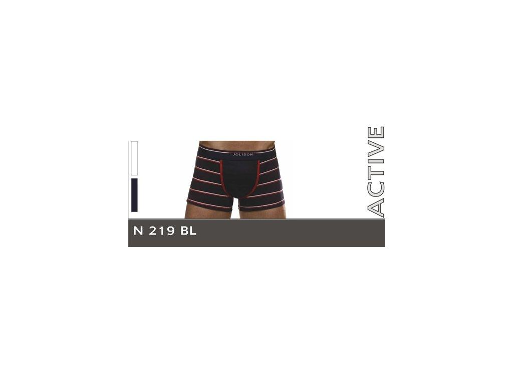 Jolidon 219 pánské boxerky (Barva bílá, Velikost oblečení L)