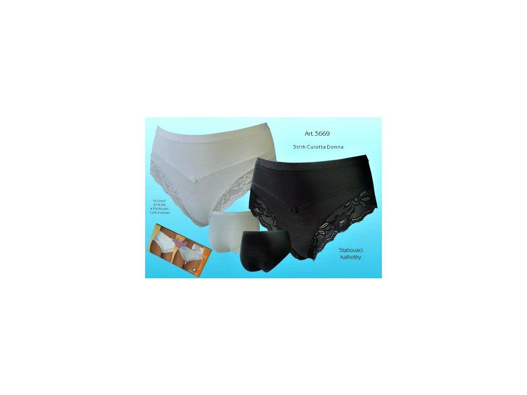 LovelyGirl Slight 3669 dámské kalhotky (Barva černá, Velikost oblečení 4XL)