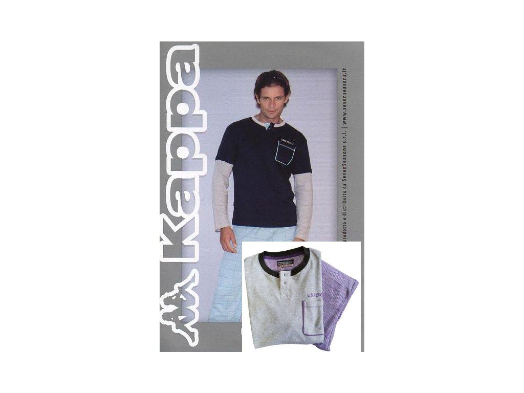 Kappa 4202 pánské domácí oblečení (Barva šedá, Velikost oblečení L)