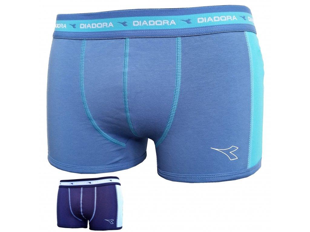 Diadora 5244 pánské  boxerky (Barva modrá světlá, Velikost oblečení S/M)