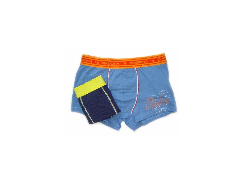 Diadora 5252 pánské  boxerky (Barva modrá světlá, Velikost oblečení S/M)