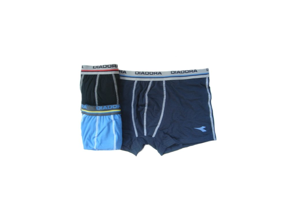 Diadora 5433 pánské boxerky (Barva černá, Velikost oblečení XL)