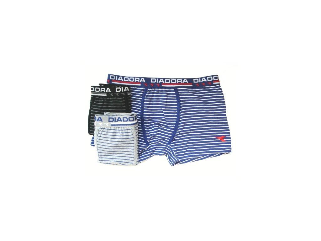 Diadora 5447 pánské boxerky (Barva černá, Velikost oblečení 2XL)