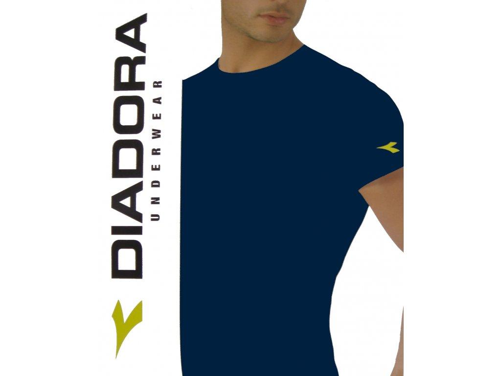 Diadora 6061 pánské tričko (Barva černá, Velikost oblečení XL)