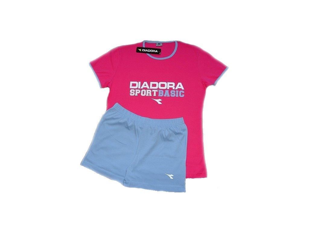 Diadora 62120 dámské pyžamo (Barva fialová, Velikost oblečení S)