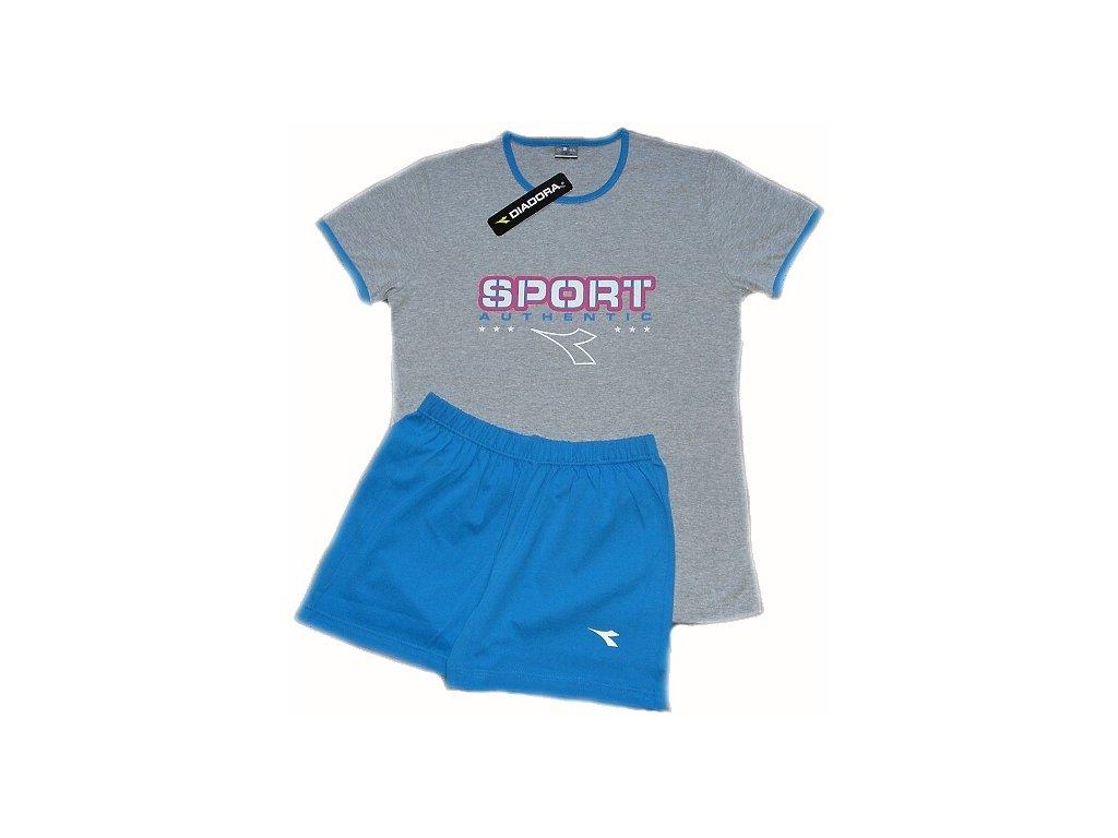 Diadora 62124 dámské pyžamo (Barva šedá, Velikost oblečení S)