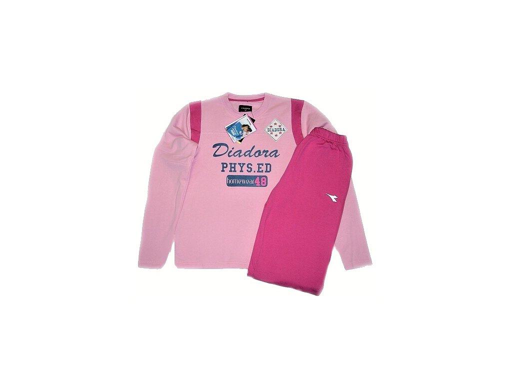 Diadora 62156 dámské pyžamo (Barva modrá, Velikost oblečení S)
