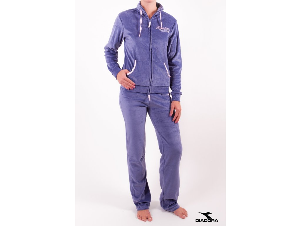 Diadora souprava dámská 62299 modrá (Barva modrá, Velikost oblečení S)