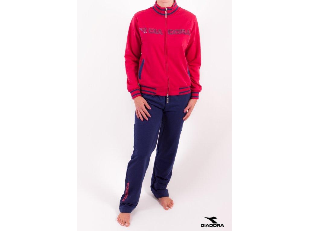 Diadora 675 dámská sportovní souprava (Barva červená, Velikost oblečení S)