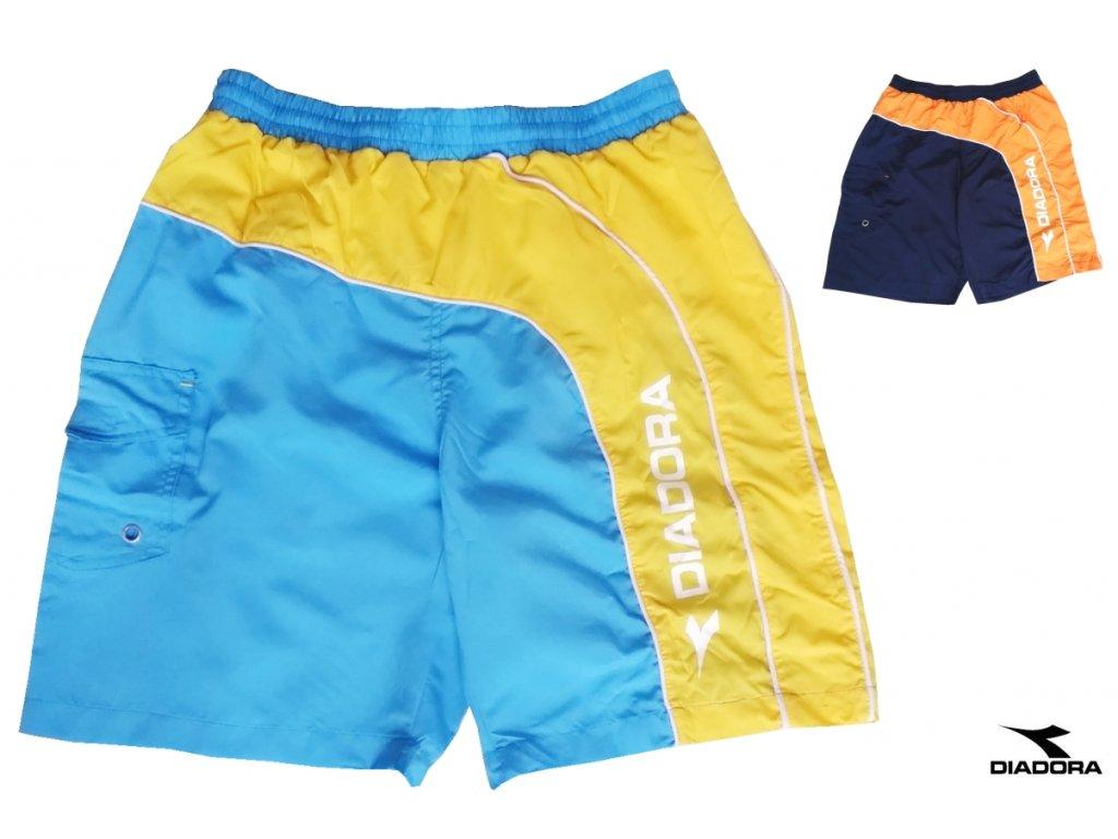 DIADORA 71066 pánské plavky (Barva tyrkysová, Velikost oblečení XL)