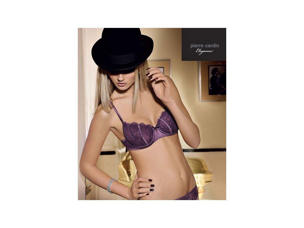Pierre Cardin 7116 dámská podprsenka (Barva fialová, Velikost oblečení 80D)