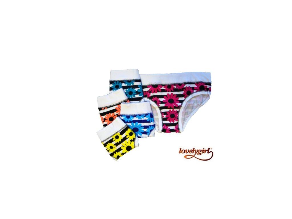 LovelyGirl 8265 dámské kalhotky (Barva zelená, Velikost oblečení L)